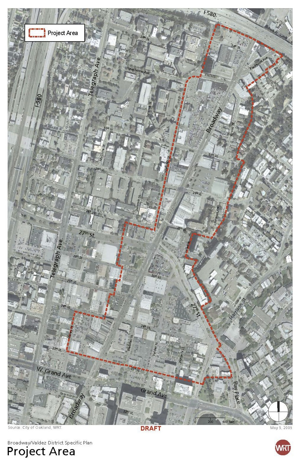 Oakland area plans underway walk oakland bike oakland for Broadway plan